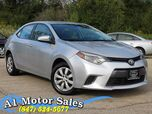 2015 Toyota Corolla LE 1 Owner