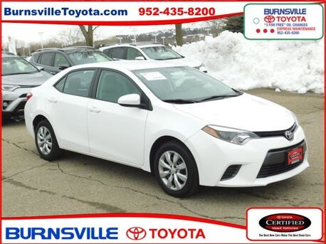 2015_Toyota_Corolla_LE_ Burnsville MN