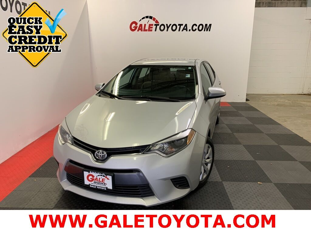 2015 Toyota Corolla LE Enfield CT