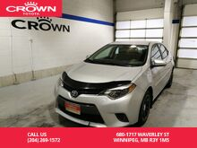 2015_Toyota_Corolla_LE / Immaculate Condition / One Owner / Local / Great Value_ Winnipeg MB