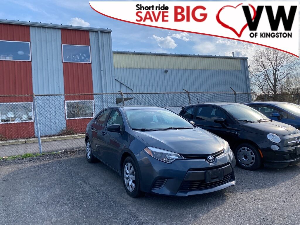 2015_Toyota_Corolla_LE_ Kingston NY