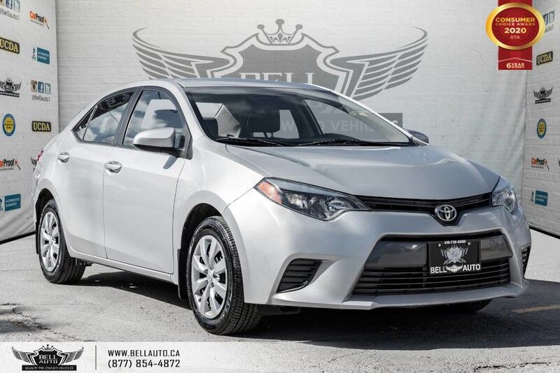 2015 Toyota Corolla LE, NO ACCIDENT, HEATED SEATS, BLUETOOTH, TRACTION CNTRL
