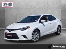 2015_Toyota_Corolla_LE_ Roseville CA