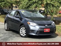 2015 Toyota Corolla LE White River Junction VT