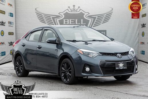 2015 Toyota Corolla S, BACK-UP CAMERA, HEATED SEATS, CRUISE CONTROL Toronto ON
