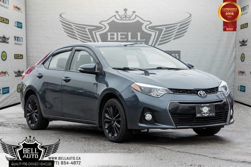 2015 Toyota Corolla S, BACK-UP CAMERA, HEATED SEATS, CRUISE CONTROL