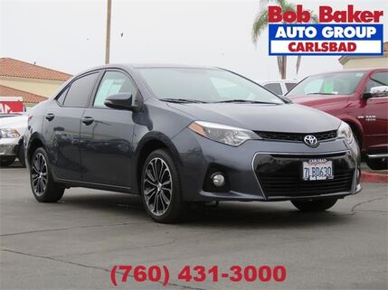 2015_Toyota_Corolla_S_ Carlsbad CA