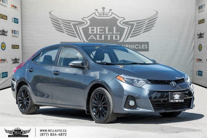 2015 Toyota Corolla S, NO ACCIDENT, BACK-UP CAM, LEATHER, HEATED SEATS Toronto ON