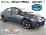 2015 Toyota Corolla S Plus *AUTOMATIC, BACKUP-CAMERA, TOUCH SCREEN, STEERING WHEEL CONTROLS, ALLOY WHEELS, BLUETOOTH PHONE & AUDIO