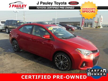 2015_Toyota_Corolla_S Plus_ Fort Smith AR