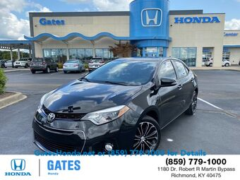 2015_Toyota_Corolla_S Plus_ Richmond KY