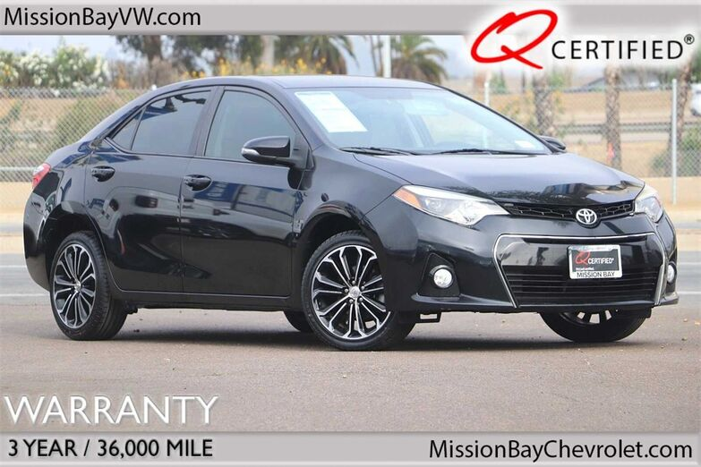 2015 Toyota Corolla S Plus San Diego CA
