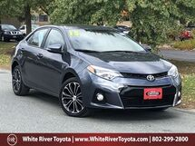 2015 Toyota Corolla S Plus White River Junction VT