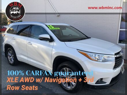 2015_Toyota_Highlander_AWD XLE V6_ Arlington VA
