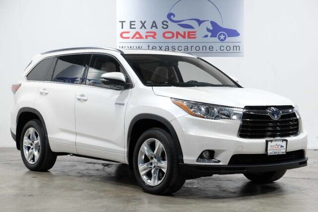 2015 Toyota Highlander Hybrid LIMITED AWD BLIND SPOT LANE KEEP ASSIST FORWARD COLLISION WARNING NAVIGATION Carrollton TX