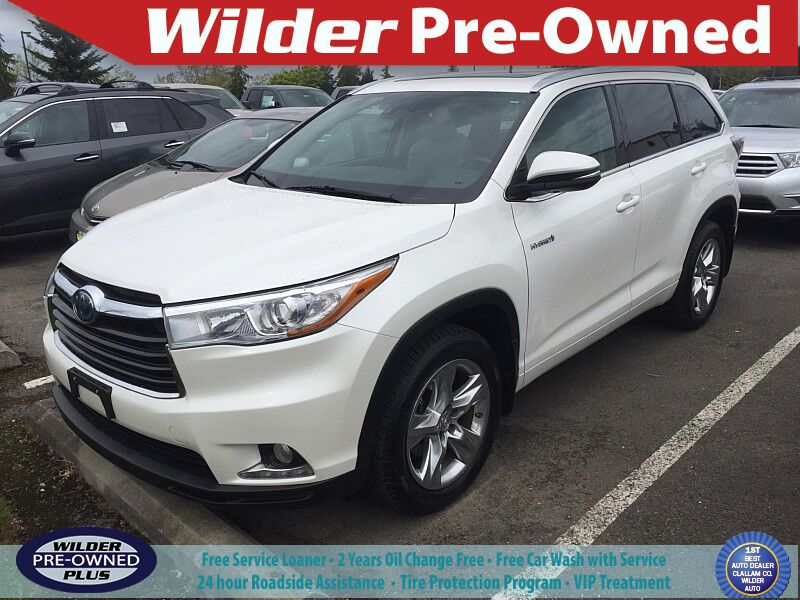 2015 Toyota Highlander Hybrid Limited Platinum Port Angeles WA