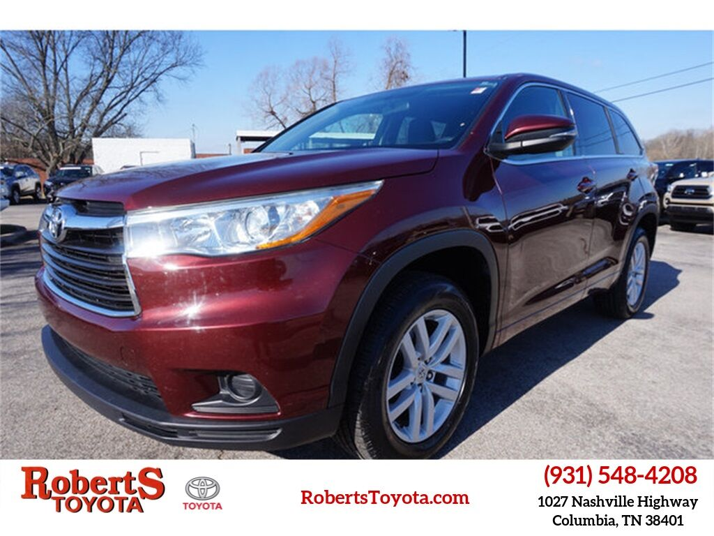 2015 Toyota Highlander LE Columbia TN