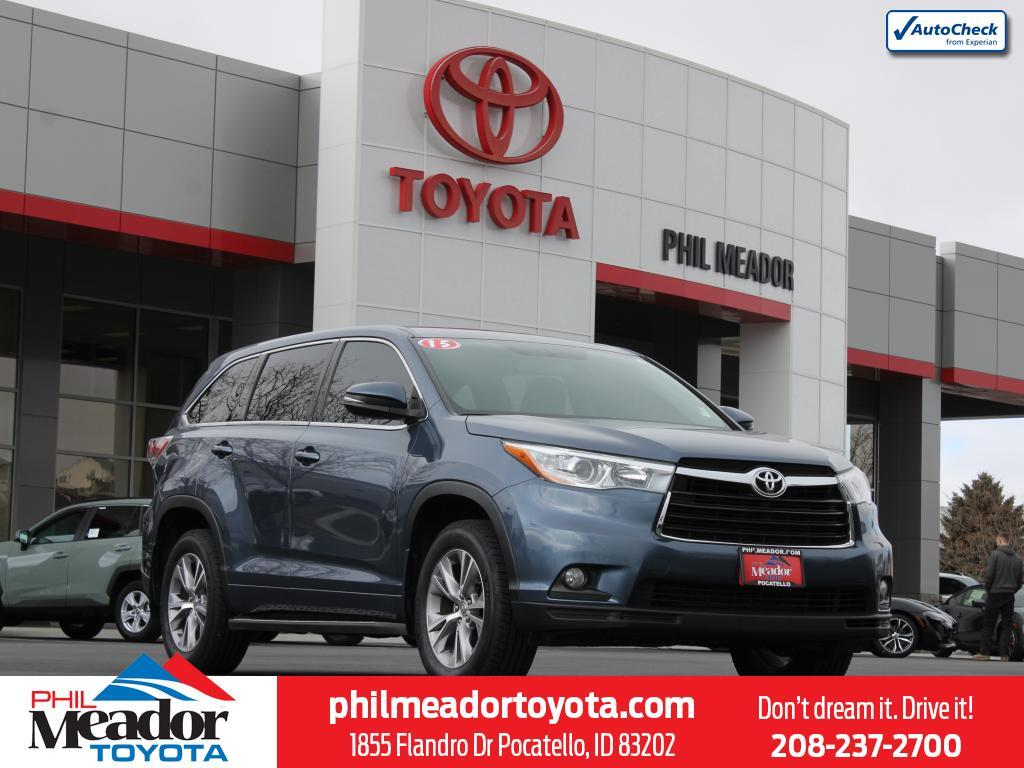 2015 Toyota Highlander LE Plus Pocatello ID