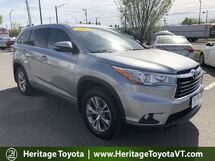 2015 Toyota Highlander LE Plus South Burlington VT
