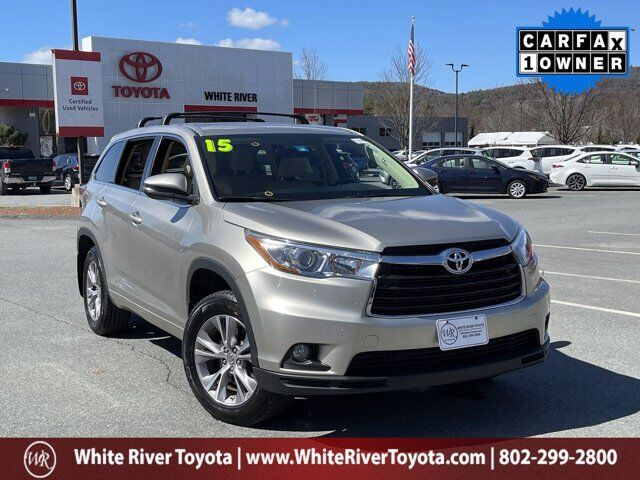 2015 Toyota Highlander LE Plus White River Junction VT