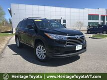 2015 Toyota Highlander LE South Burlington VT