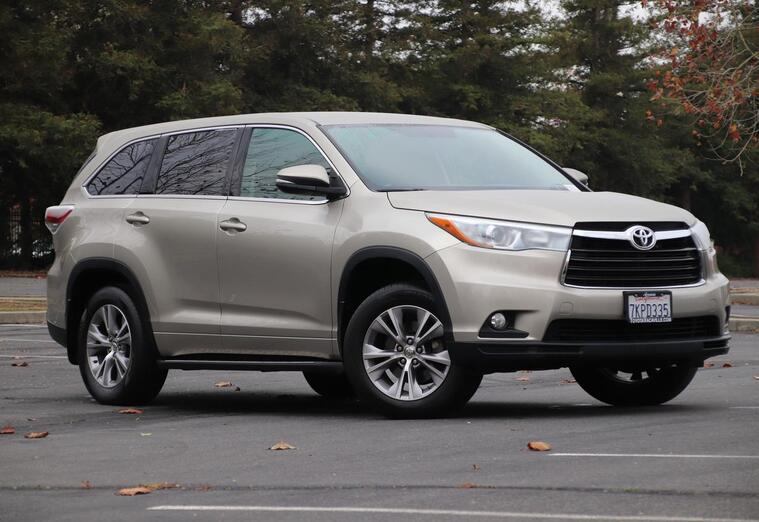 2015 Toyota Highlander Le Plus Sport Utility Vacaville CA