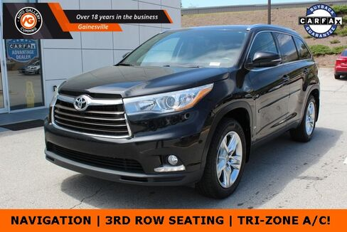 2015_Toyota_Highlander_Limited_ Gainesville GA