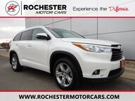2015 Toyota Highlander Limited AWD - Certified - Rear DVD - Nav - 3rd Row Seat Rochester MN