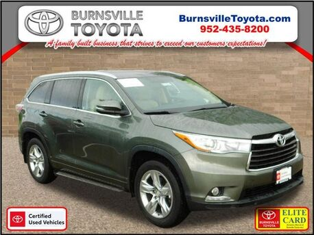 2015_Toyota_Highlander_Limited_ Burnsville MN