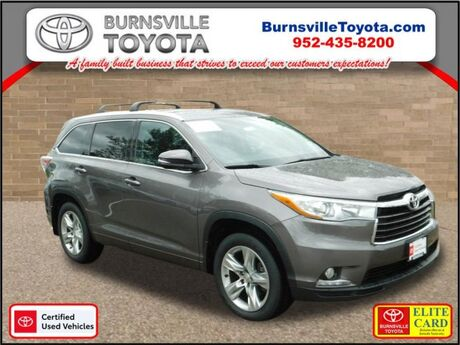 2015 Toyota Highlander Limited Burnsville MN
