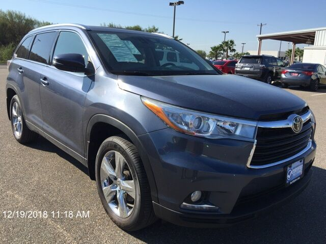 2015 Toyota Highlander Limited Mercedes TX