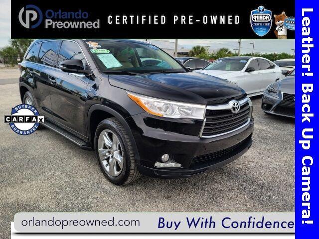 2015 Toyota Highlander Limited Orlando FL