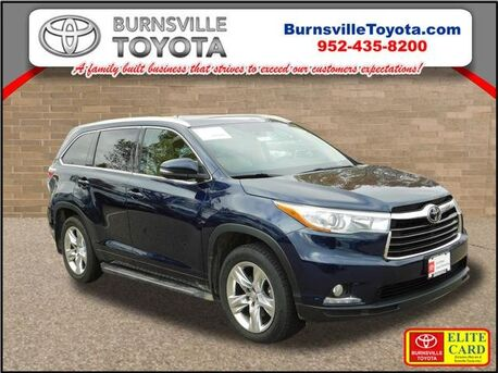 2015_Toyota_Highlander_Limited Platinum_ Burnsville MN