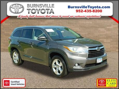 2015_Toyota_Highlander_Limited Platinum_ Burnsville MN