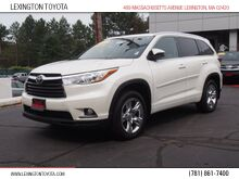 2015_Toyota_Highlander_Limited Platinum_ Lexington MA
