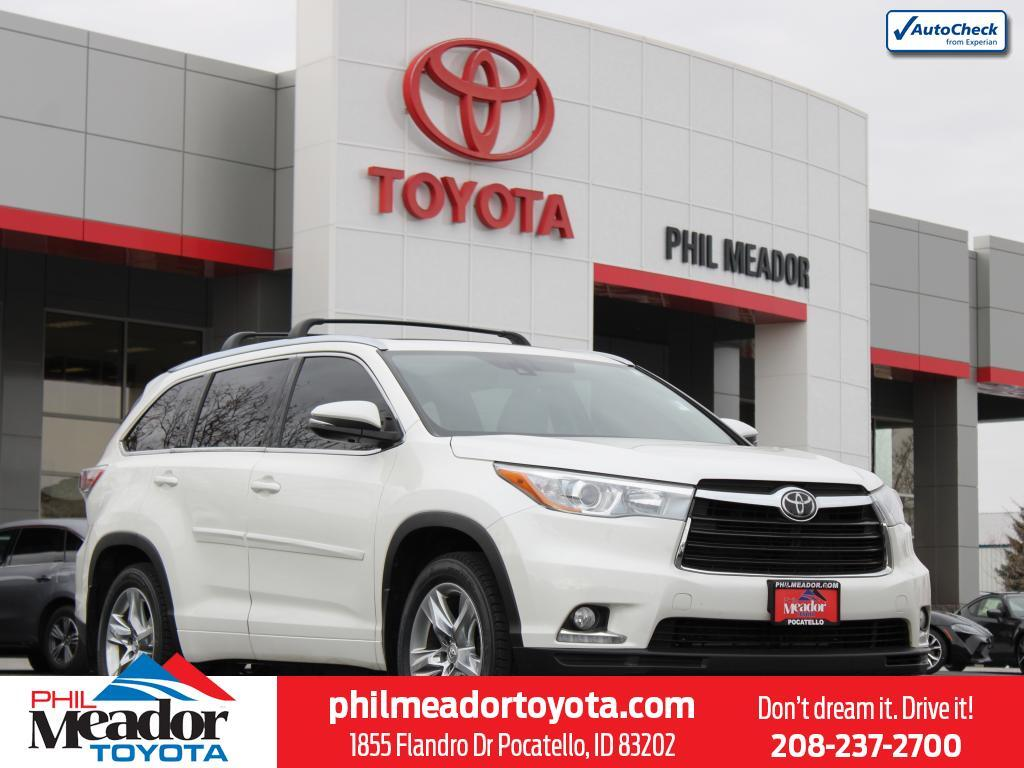 2015 Toyota Highlander Limited Platinum Pocatello ID