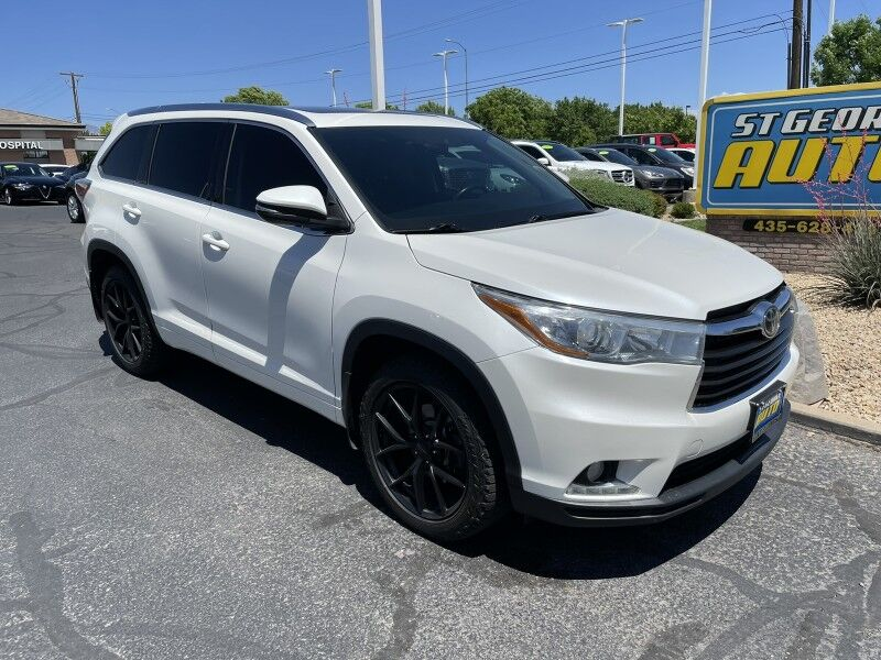 2015 Toyota Highlander Limited Platinum St George UT