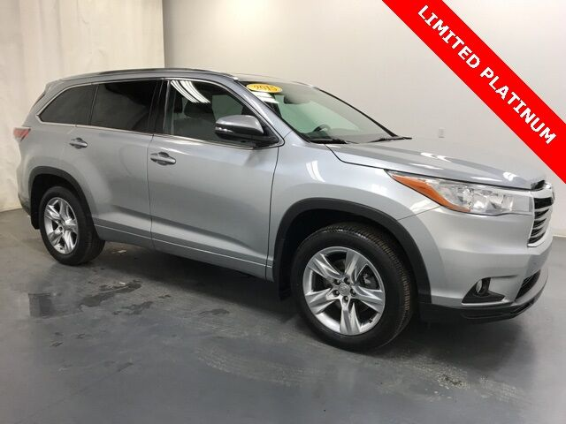 2015 Toyota Highlander Limited Platinum V6 AWD Holland MI