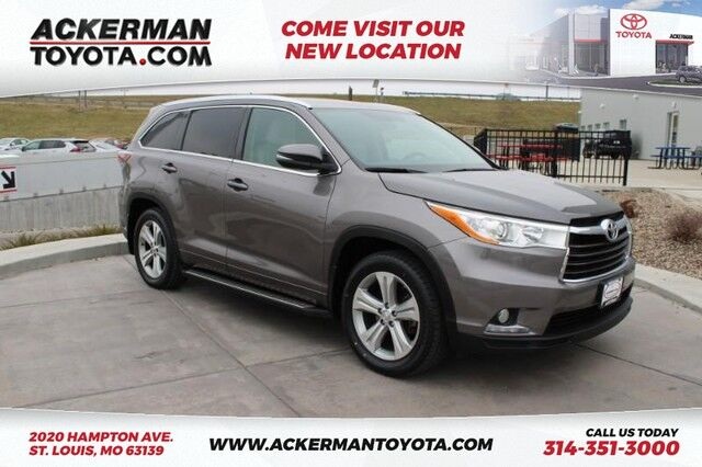 2015 Toyota Highlander Limited St. Louis MO