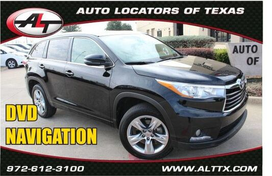 2015 Toyota Highlander Limited with DVD Plano TX