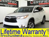 Toyota Highlander XLE AWD V6 NAVIGATION SUNROOF LEATHER HEATED SEATS REAR CAMERA BLUETOOTH 2015