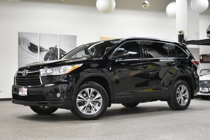 2015_Toyota_Highlander_XLE_ Boston MA