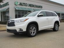 2015_Toyota_Highlander_XLE FWD V6 LEATHER SEATS, HEATED FRONT SEATS, NAVIGATION SYSTEM, SUNROOF_ Plano TX