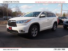 2015_Toyota_Highlander_XLE_ Lexington MA