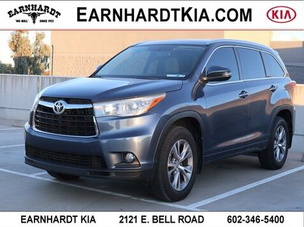 2015_Toyota_Highlander_XLE_ Phoenix AZ