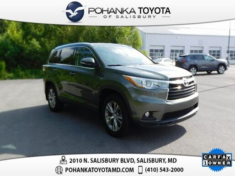 2015_Toyota_Highlander_XLE V6_ Salisbury MD