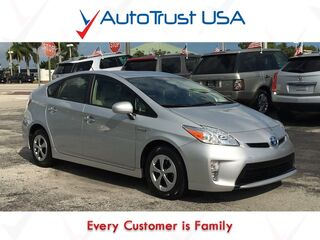 Toyota Prius FOUR 1 OWNER LEATHER BACKUP CAM POWER PKG LOW MILES 2015