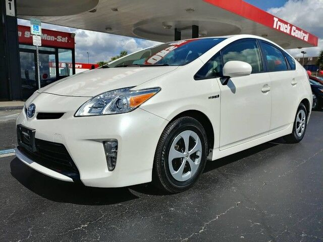 2015_Toyota_Prius_Four_ Fort Myers FL