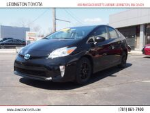2015_Toyota_Prius_Two_ Lexington MA