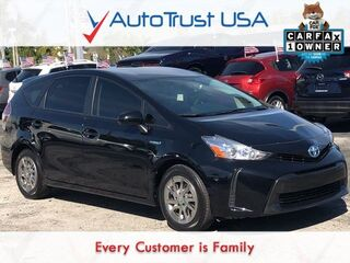 Toyota Prius v Two 1 OWNER LEATHER BACKUP CAM USB BLUETOOTH 2015